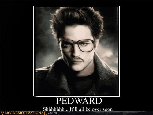 awesome edward cullen mustache pedophiles twilight vampires - 4335439360