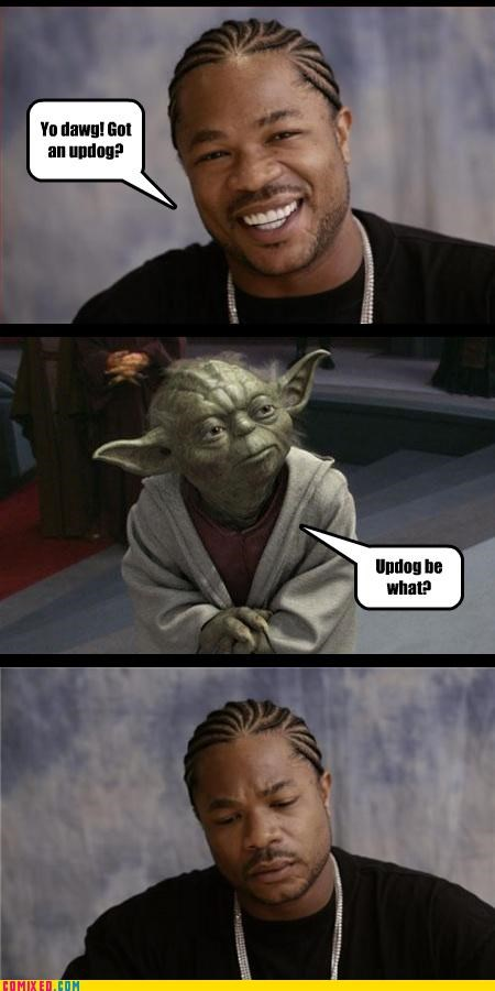 language star wars the force updog Xzibit yoda