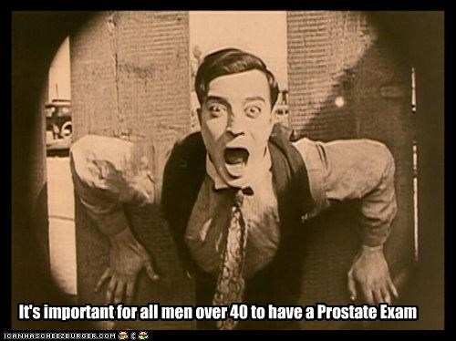 It's important for all men over 40 to have a Prostate Exam