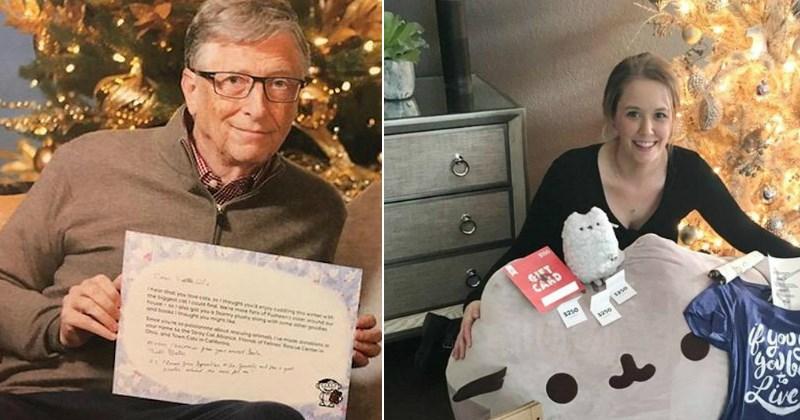 wholesome Secret Santa Bill Gates - 4338181
