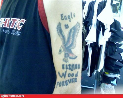 bad eagles elijah wood tattoos - 4338263296