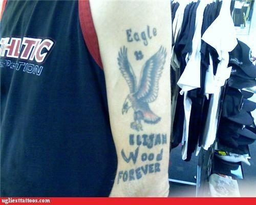 bad eagles elijah wood tattoos - 4338263296