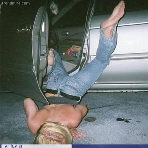 awesome car fall passed out - 4338567936