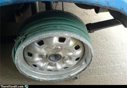 cars dangerous tire wheel wtf - 4338594048