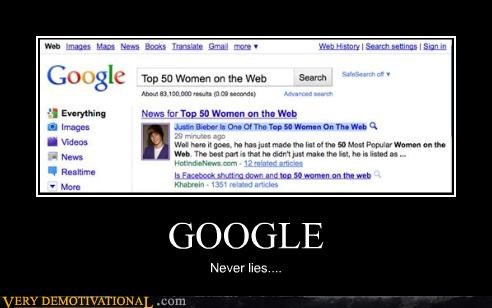 girls google justin bieber lol search the internets