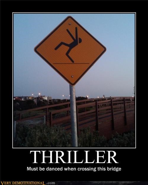 dancing michael jackson mj signs thriller wtf
