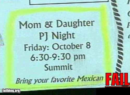 ads bring failboat family g rated mexicans newspaper sleepover - 4339972096