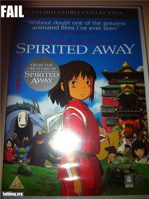 ads blurbs creators failboat g rated hayao-miyazaki-isnt-amused movies spirited away stickers