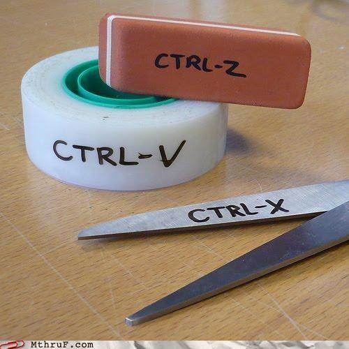copy cut eraser Paste scissors tape - 4343089408