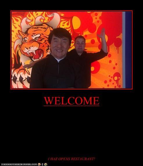 WELCOME I HAZ OPENS RESTAURANT!