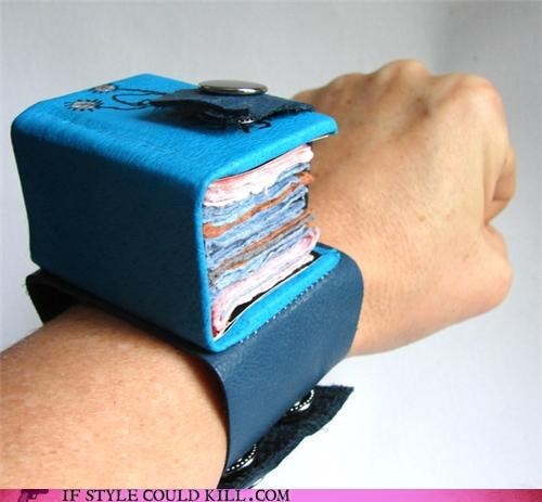 books bracelet cool-accessories-book-bracelet cuff jewely - 4343942144