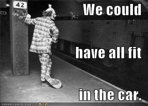 clown funny historic lols Photo - 4344887552