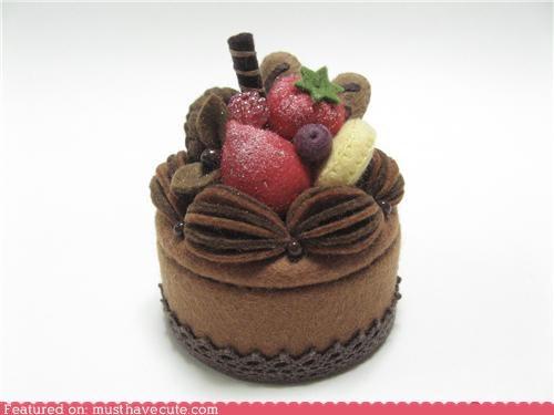 box cake felt hide suprise - 4345185536