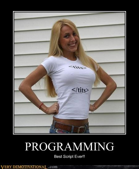 babe boobs help computer nerds programming shirt