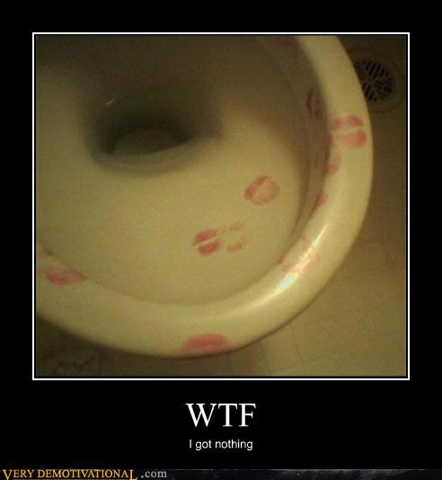bathroom humor kissing a toilet lol relationships toilet wtf - 4345797888