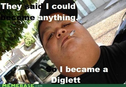 diglett Memes Pokémans thumb head - 4345872128
