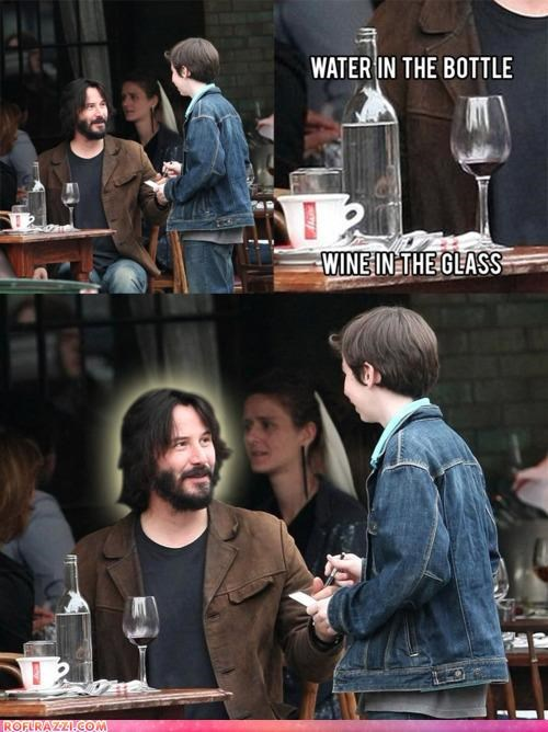 religion funny keanu reeves meme - 4346033408