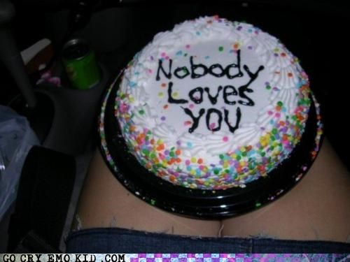 cake,frosting,hatred,hollow,inside,love