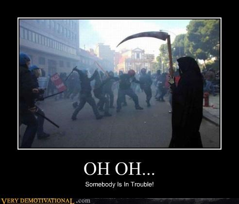 awesome,Death,oh no,protestors,riots,wtf
