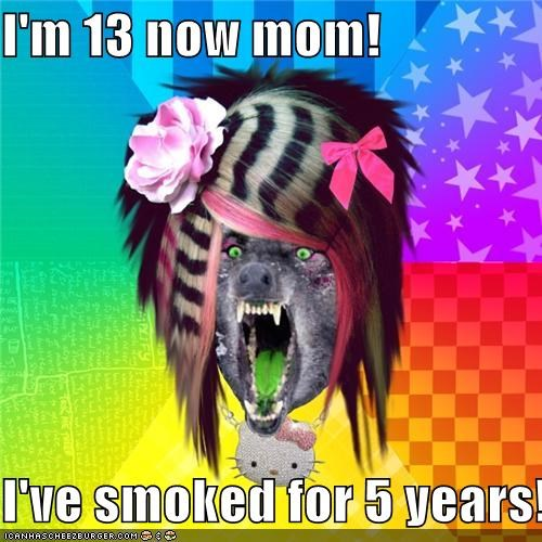 13 5 years bad scene wolf smoking - 4346431744