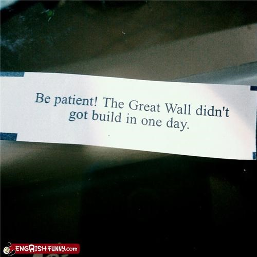 China cookies fortune cookie great wall - 4346444800