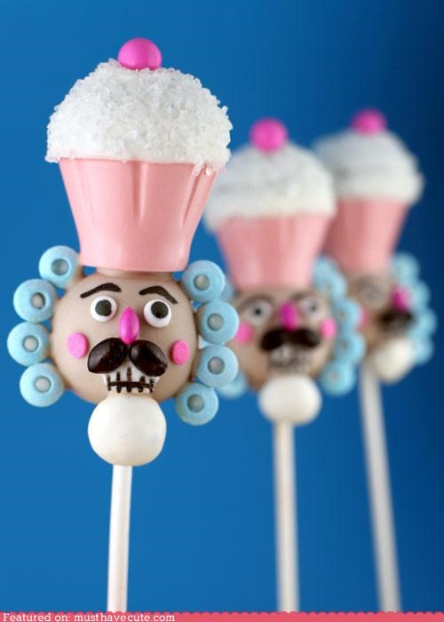 bakerella,cake,cake pops,decorated,epicute,stick
