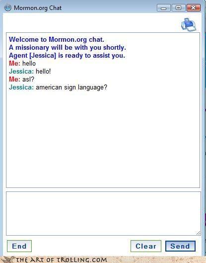 asl american sign language Mormon Chat - 4347051520