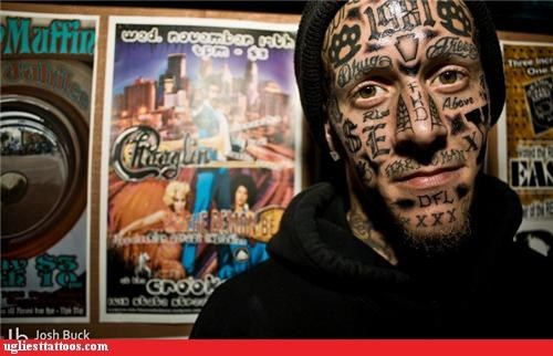 face tats numbers words - 4347340032