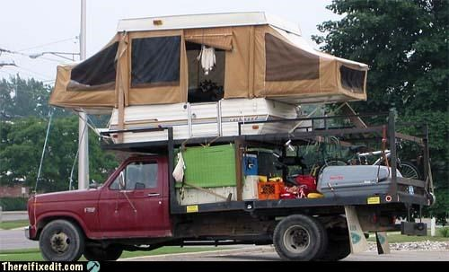 rednecks trailers truck wtf - 4348112640