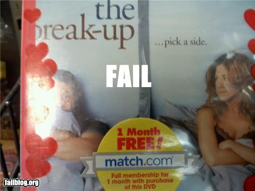 chick flicks dating services dvds-movies failboat g rated marketing