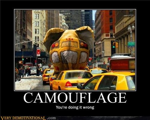 awesome camouflage elephant taxi wtf You are doing it wrong