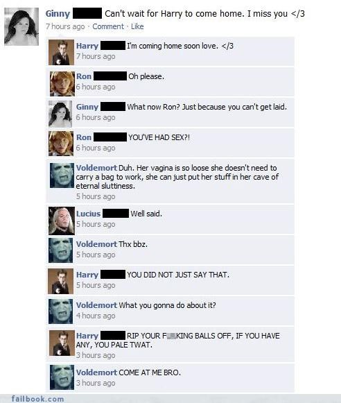 drama Fictional Facebook Fun lol oh snap sexy times - 4349409024