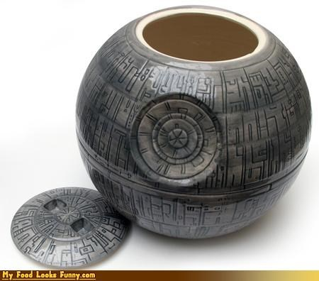 cookie jar Death Star nerd star wars - 4349564160