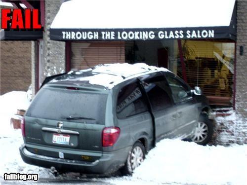 crash driving failboat g rated irony snow - 4349909248