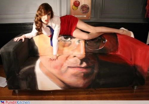 couch,Fan Art,steven colbert,wtf