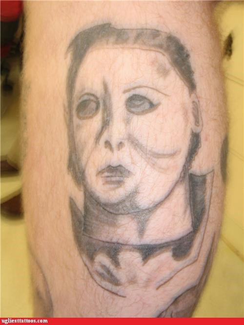 awesome,halloween,michael myers,tattoos