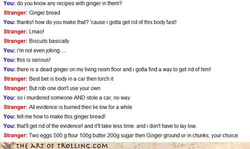 body chunky food ginger murder Omegle - 4350287104