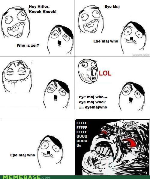 hitler jew lol Memes rage - 4350381568