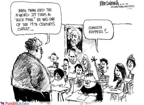 cartoons,mark twain,rapper,school,teacher