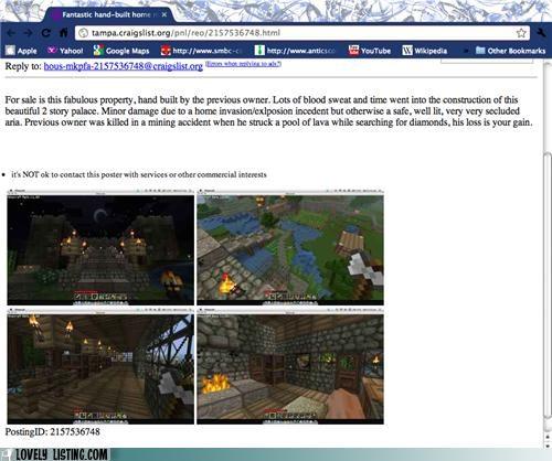 listing,minecraft,online