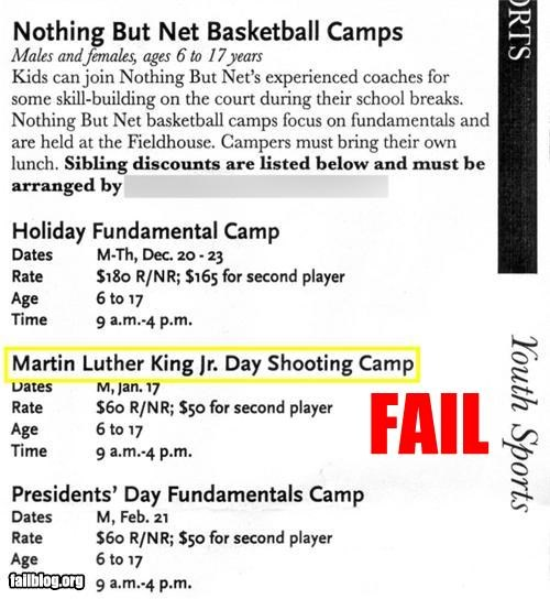 basketball class facepalm failboat g rated MLK Jr not that kind of shooting shooting who-copy-edited-this - 4350839552