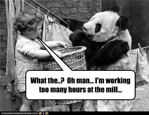 What the..? Oh man... I'm working too many hours at the mill...