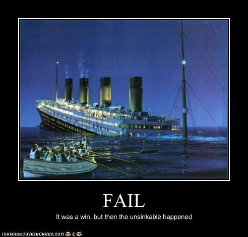 art demotivational funny titanic - 4352363520