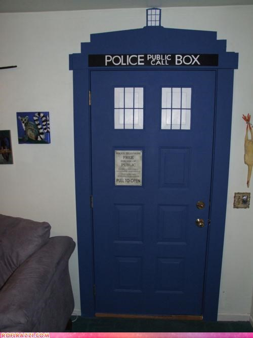 crafty doctor who funny Hall of Fame sci fi tardis - 4352545280