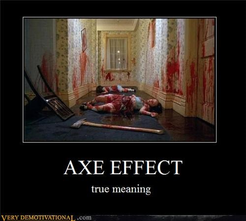 commerical shining axe effect - 4352808448