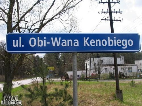 nerdgasm road sign star wars street name - 4353096704