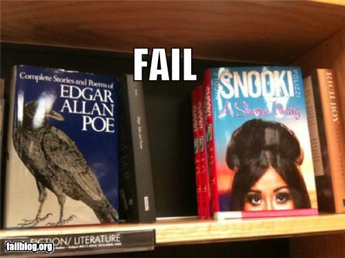 books,failboat,g rated,jersey shore,literature,placement,snooki,stores