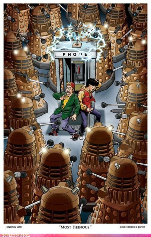 art bill and ted doctor who Hall of Fame sci fi - 4353155840