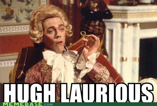 black adder George hugh laurie Memes monocle prince of wales - 4353177088