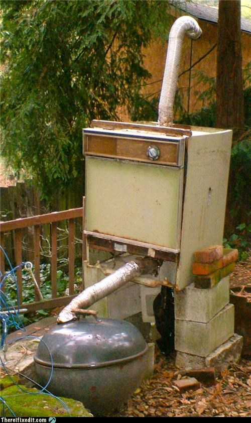 dual use kitchen kludge smoker